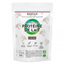 BIOFAIR NUTRITION - La véritable protéine de lait bio Cacao - 500g