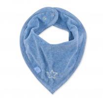 Bemini - Bandana waterproof - Etoile bleue denim