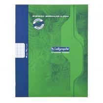 Calligraphe - Cahier Piqué Brouillon 17x22 48p séyès 56g Recyclé