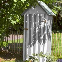FOREST STYLE - Armoire de jardin bois WISSANT 0,4m², 3 étagères