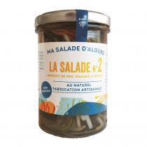 Marinoé - Salade d'algues & légumes au naturel 110g bio
