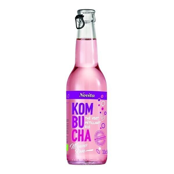 Novita - Kombucha mauve-rose 33cl Bio