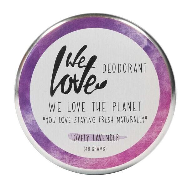 We Love The Planet - Déodorant crème lovely lavender 48g bio