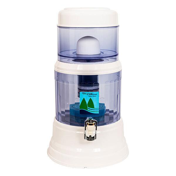 Fontaine EVA - Fontaine à eau filtrante EVA 1200 PLC  12 LITRES
