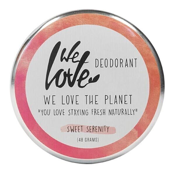 We Love The Planet - Déodorant crème sweet serenity 48g bio