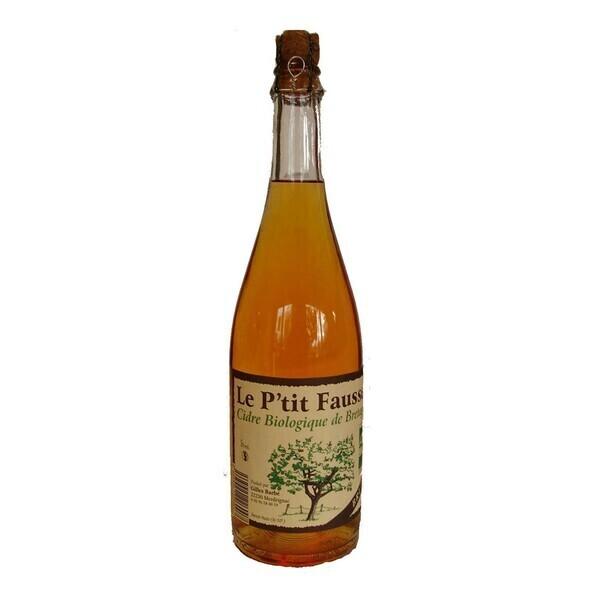 Le P'tit Fausset - Cidre brut 75cl bio