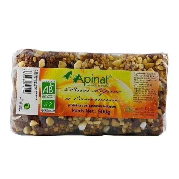 Apinat - Pain d'épices à l'ancienne 500g bio