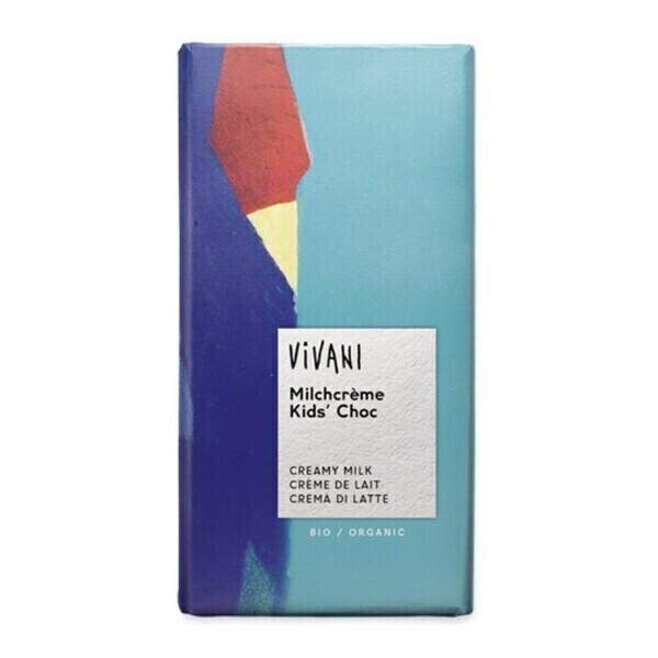 Vivani - Chocolat Kids crème de lait 100g bio