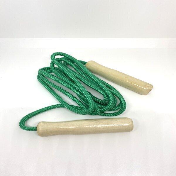 Healthy mini box - Corde à sauter bois et corde naturelle