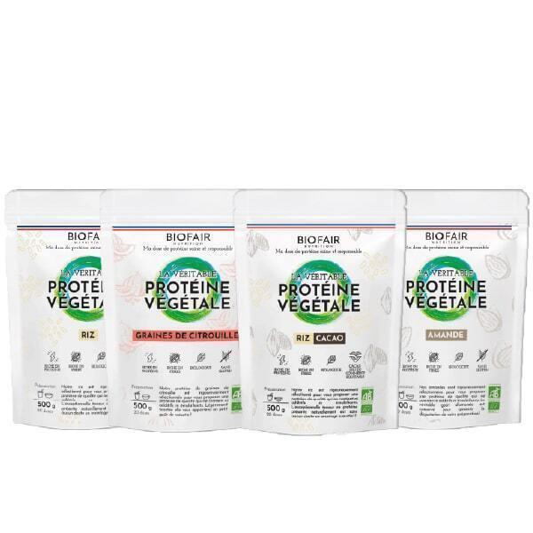 BIOFAIR NUTRITION - Pack Protéines Végétales