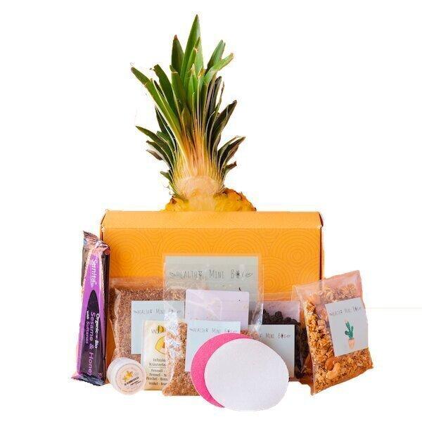 Healthy mini box - Box Operation bikini , coffret 8 produits healthy et cosmétiques