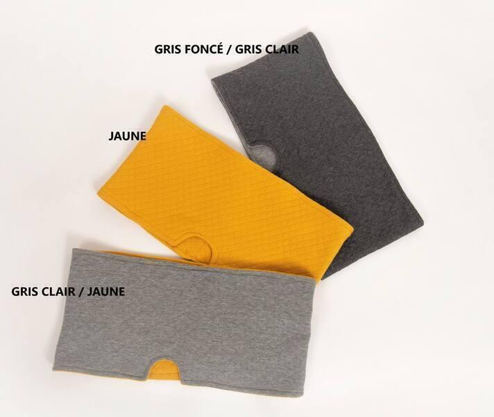 Fontaine EVA - HOUSSE GRIS CLAIR / JAUNE FONTAINE 7 LITRE EN VERRE