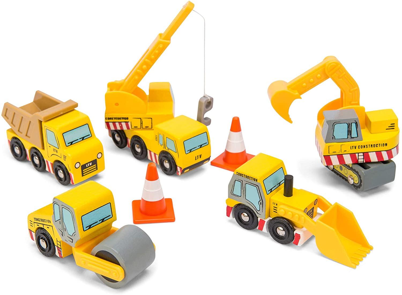 Le toy van - Véhicules de chantier