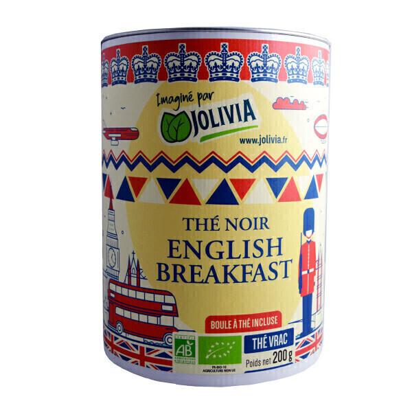 Jolivia - Thé noir English Breakfast Bio - 200 g