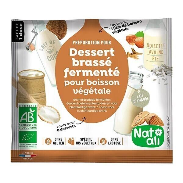 Natali - Ferment pour dessert brassé végétal 24g bio