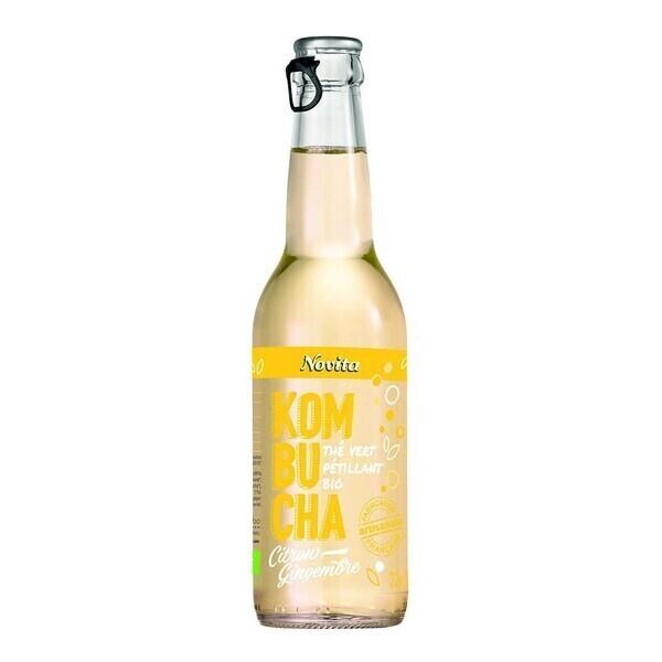 Novita - Kombucha citron-gingembre 33cl Bio