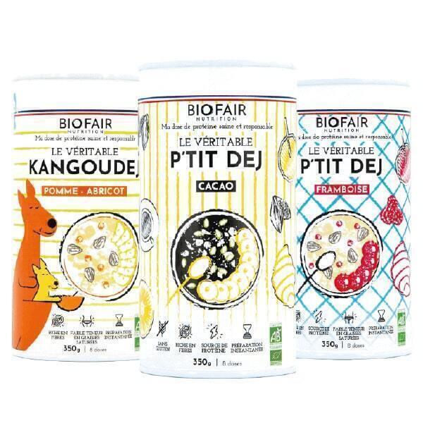 BIOFAIR NUTRITION - Pack P'tits Dejs Végétal