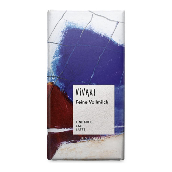 Vivani - Chocolat au lait 100g bio