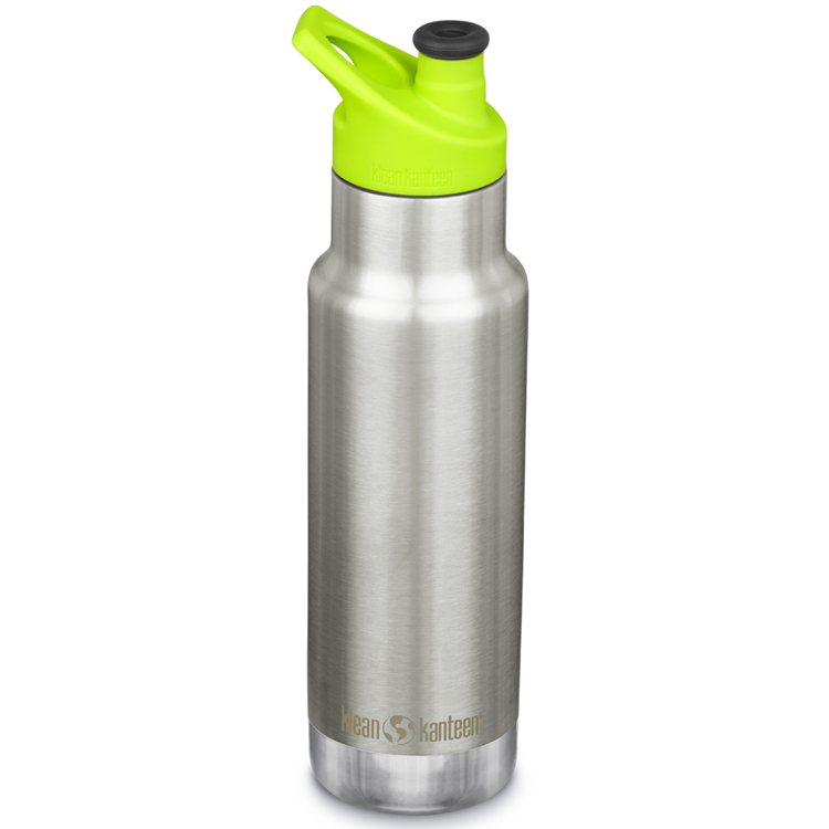 Klean Kanteen - Gourde Inox Isotherme 355 ml bouchon Sport Brushed Stainless