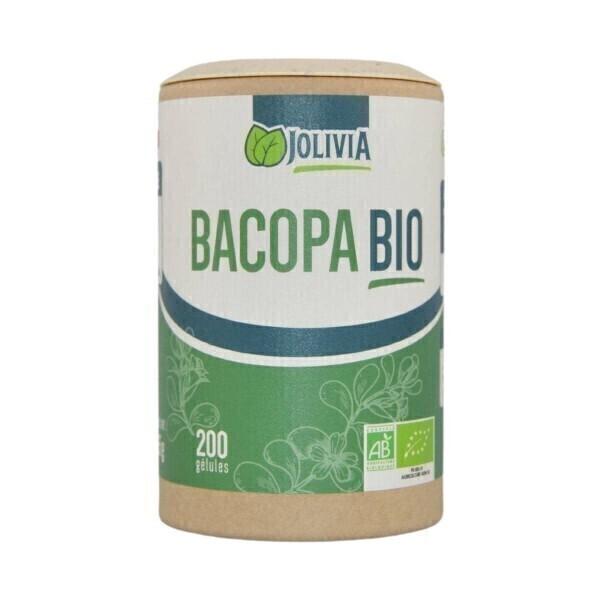Jolivia - Bacopa Bio - 200 gélules végétales de 250 mg