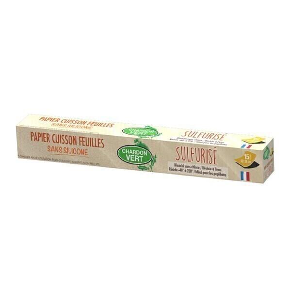 Chardon Vert - Papier cuisson
