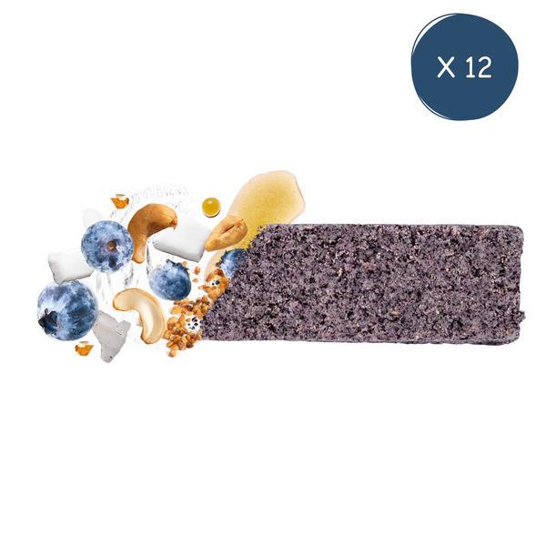 BIOFAIR NUTRITION - Pack éco barres myrtille 12 x 33g