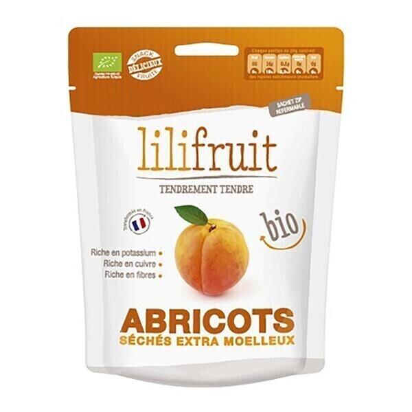 Lilifruit - Abricots séchés moelleux 150g bio