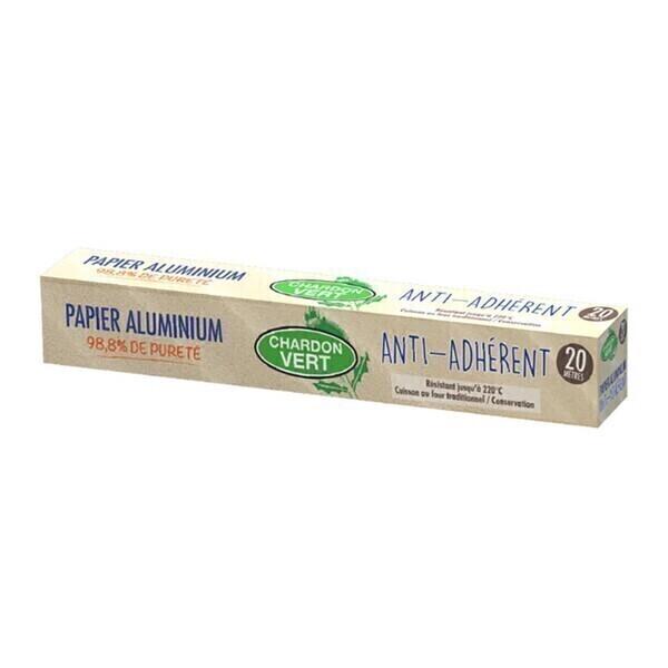 Chardon Vert - Papier aluminium