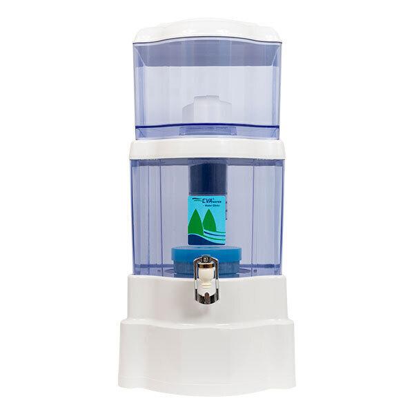 Fontaine EVA - Fontaine à eau filtrante EVA 2500 PLC- 25 LITRES