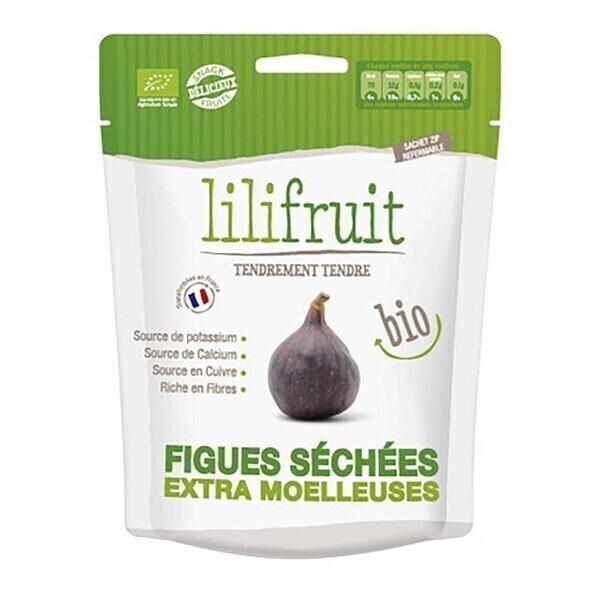 Lilifruit - Figues séchées moelleuses 150g bio
