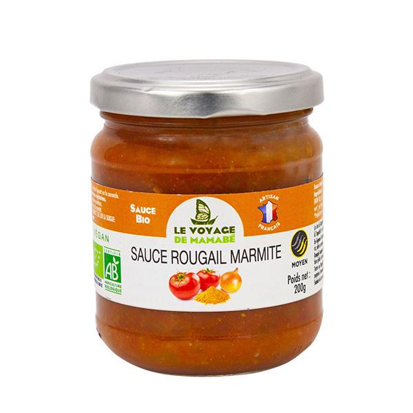 Le Voyage de Mamabé - Sauce rougail marmite 200g