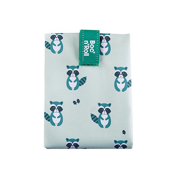 Roll'eat - Emballage sandwich Boc'n'Roll Animals Raccoon