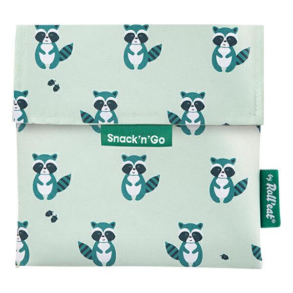 Roll'eat - Sac à goûter Snack'n'Go Animals Raccoon