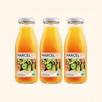 Marcel Bio - Cocktail de Fruits Jaunes Bio - 3 x 25cl