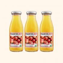 Marcel Bio - Pur Jus de Pomme Bio - 3 x 25cl