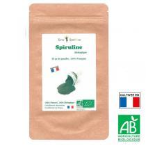 Terre Symbiose - Spiruline Biologique Française - Poudre 50g - Energie