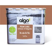 Algo Peinture - Marron Algo à base d'algues 100% naturelles (Au coin du feu)
