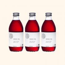 Tensaï Tea - Thé Glacé - Thé Blanc Myrtille Bio - 3 x 33cl