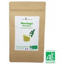 Terre Symbiose - Moringa BIO - 120 gélules de 400 mg Biologique - Fer - Calcium -