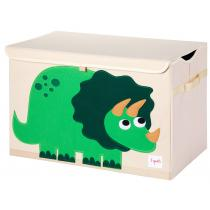 3 Sprouts - Coffre à jouets Dino