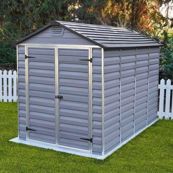 FOREST STYLE - Abri de jardin en polycarbonate ANDY, avec système de ventilati