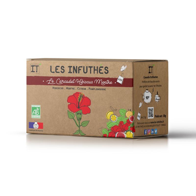 Les Infuthés - Le Carcadet Hibiscus Menthe