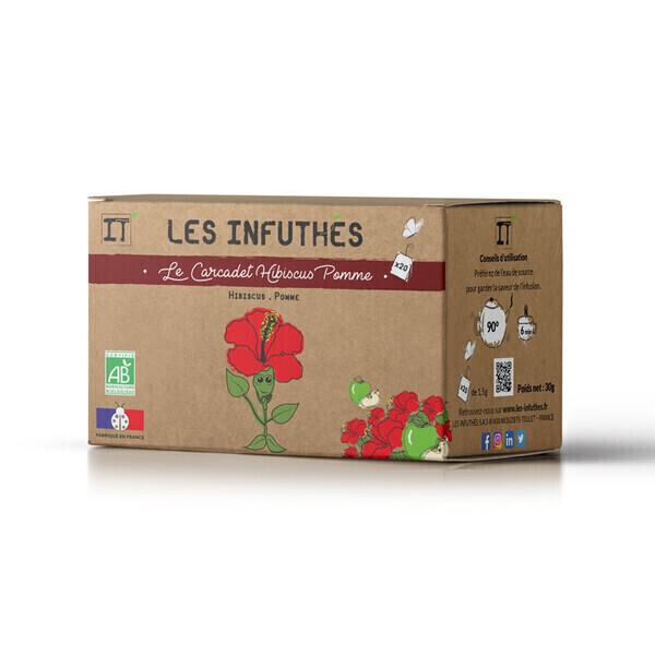 Les Infuthés - Le Carcadet Hibiscus Pomme