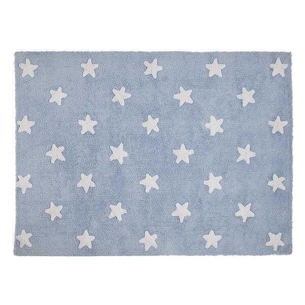 Lorena Canals - Tapis 120x160 STARS Lorena Canals blue