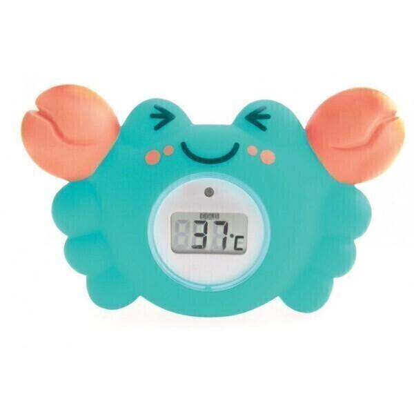 Tigex - Thermomètre de bain digital Crabe pour bébé