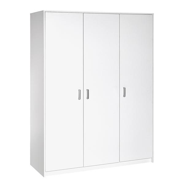 Schardt - Armoire 3 portes Lilo - Blanc