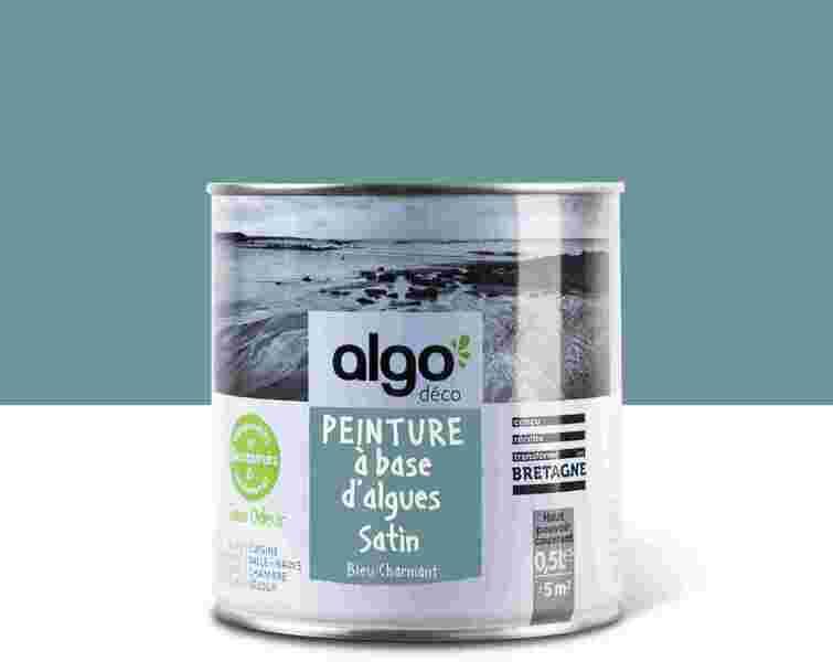 Algo Peinture - Bleue Algo à base d'algues 100% naturelles (Bleu Charmant)