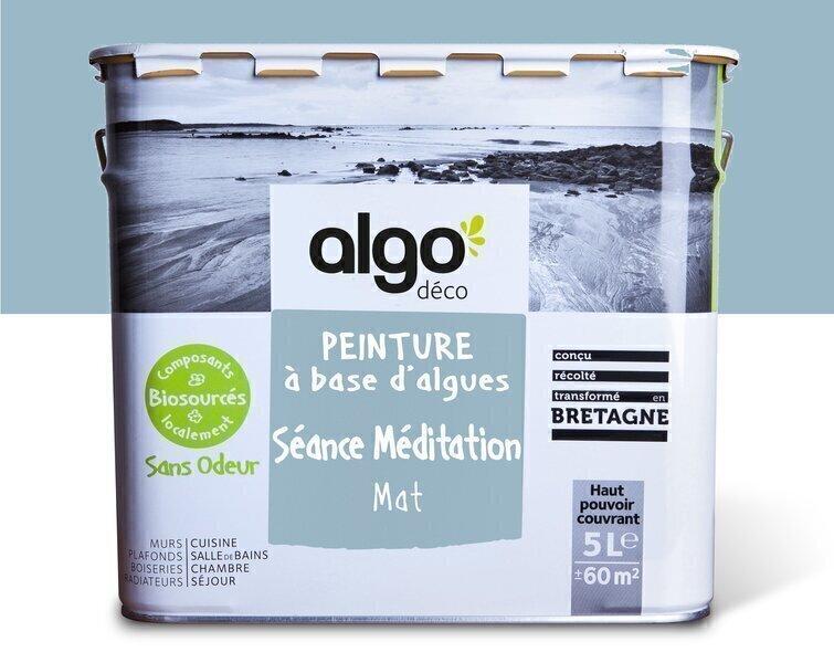 Algo Peinture - Bleue Algo à base d'algues 100% naturelles (Séance Méditation)