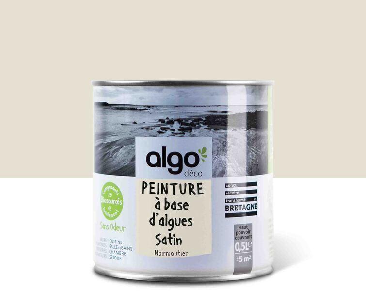 Algo Peinture - Beige Algo à base d'algues 100% naturelles (Noirmoutier)