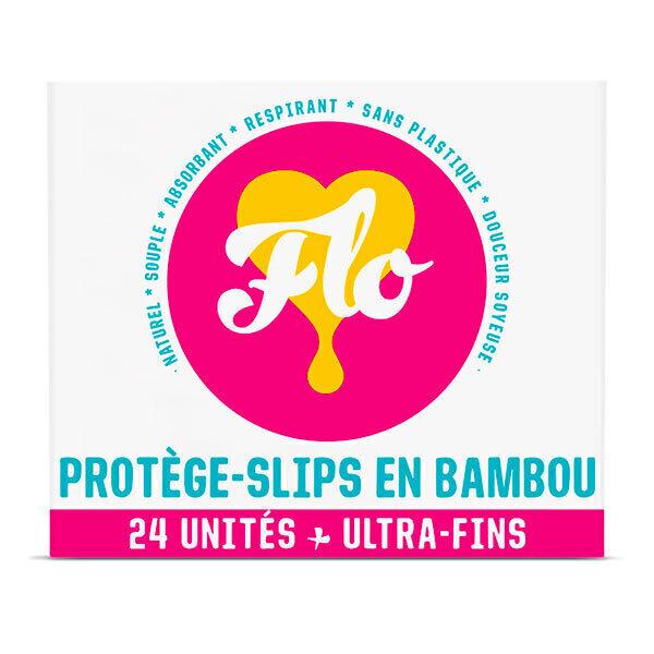 Flo - Protège-slips bambou bio X24